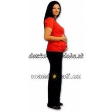 Tehotenské tepláky čierne