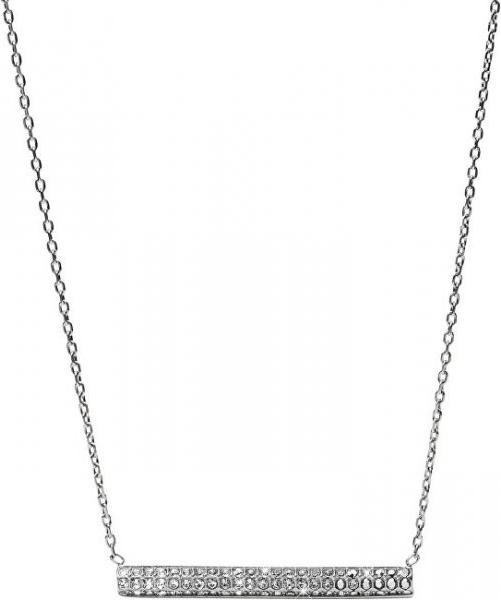 49cd9cb7a Fossil Oceľový náhrdelník s kryštálmi JF02145040 od 50,00 € - Heureka.sk