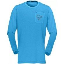 Norrona Fjora Equaliser Lightweight Long Sleeve M caribbean blue