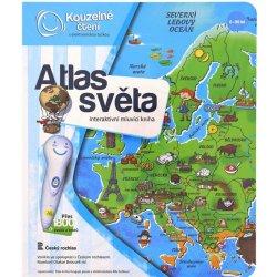 Albi Kúzelné čítanie kniha Atlas sveta