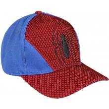 e133809b4 Disney Brand Chlapčenská šiltovka Spiderman červeno-modrá