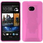 Púzdro EGO Mobile JELLY CASE HTC ONE M7 ružové