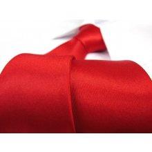 Kravata klasická červená