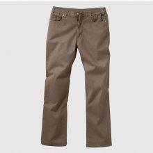 f3819ca17296 Blancheporte Twilové nohavice rovného strihu gaštanová