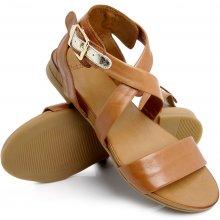 02732faef7bdd Batz dámske zdravotné sandále Fresh 51 Cognac