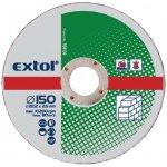 EXTOL CRAFT kotúče 115x2, 5x22, 2mm, rezné na kameň 5ks 108110