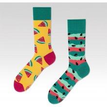 Many Mornings Barevné ponožky Watermelon Splash e9187af86d