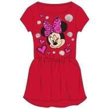E plus M Dievčenské šaty Minnie červené