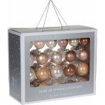 Vánočné gule box 42 kusov, 4Home