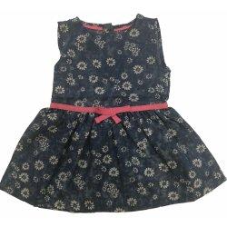 703b39d61318 Carodel Dievčenské riflové šaty s kvietkami - modré od 7