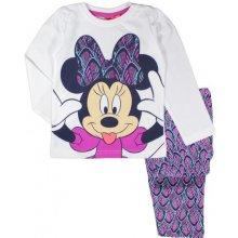 E plus M Dievčenské pyžamo Minnie bielo-fialové