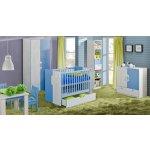 MALYS-GROUP Detská izba pre bábätko s rastúcou postieľkou NUKI zostava 5