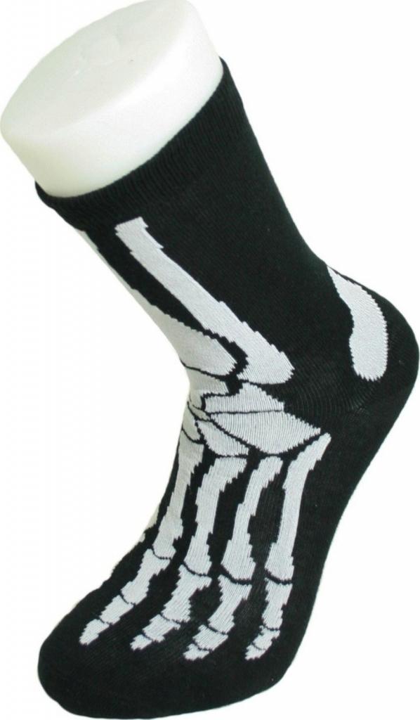 b31d1254b615 Detské ponožky Bláznivé ponožky kostra - Zoznamtovaru.sk