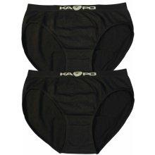 Judy KAPO bezšvové nohavičky 2ks čierna