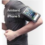Púzdro Brando sportovní na ruku Apple iPhone 5/5S/5C/SE čierne
