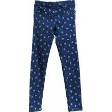 a7889a1f4c3f Topo Dievčenské nohavice s hviezdičkami modré