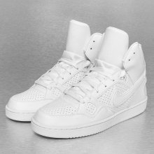 Nike Son of Force Mid Mens Basketball White White 251d0440154