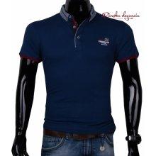 11443-21 Modré polo tričko ANTRACID 2610