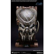 Alien vs Predator Replica 1/1 Battle Damaged Celtic Predator Mask 50 cm