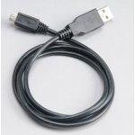 Akasa AK-CBUB05-10BK USB 2.0, male A na micro B male, 100cm, černý
