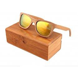 Ekologické bambusové polarizačné okuliare model04 z bambusu ... 3a09c0f4638
