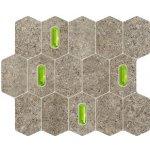 TUBADZIN LEMON STONE Grey - Mozaika 298x250x10mm