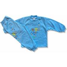 BABY´S WEAR Chlapčenské pyžamo – ŽIRAFA modré