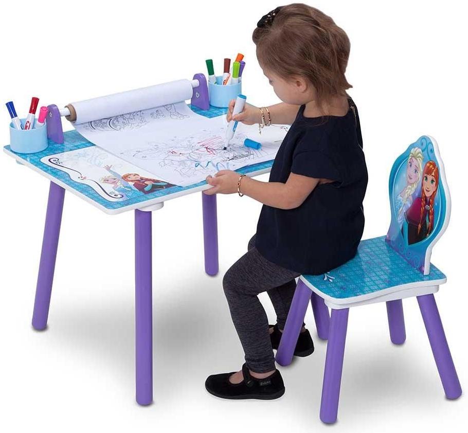 3fae2f6998bd Detské stoly a stoličky Delta Detský kresliaci stôl Frozen TT89532FZ ...