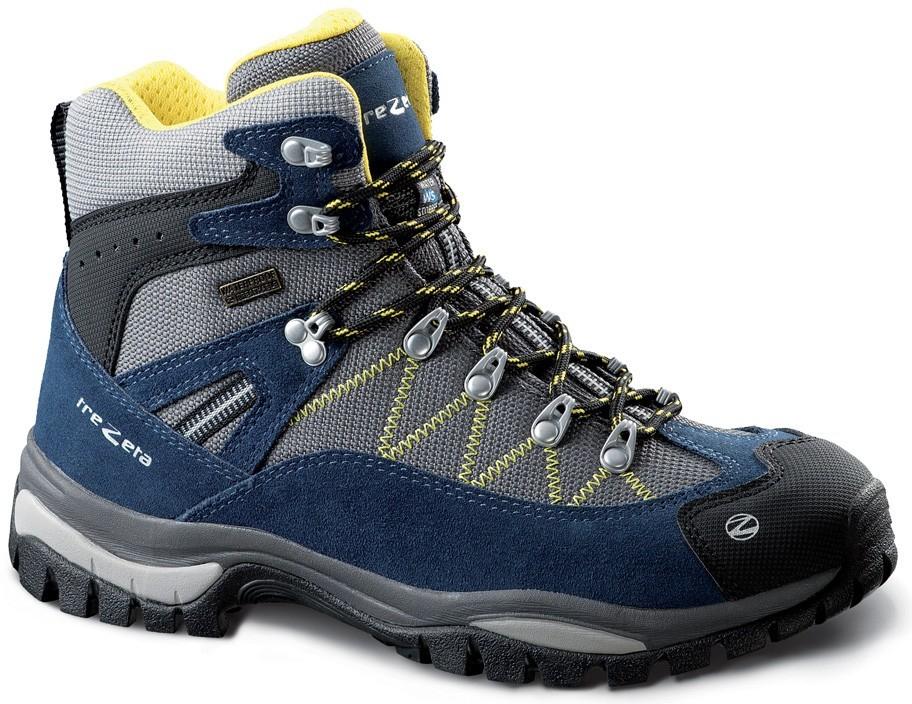 a30f882c6 Pánska topánka TREZETA-ADVENTURE WP BLUE-YELLOW, Modrá - Zoznamtovaru.sk