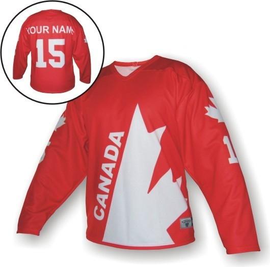 fb29477bfc9bb Hokejový dres Trops-Sport Hokejový dres RETRO KANADA L Bílá ...