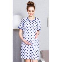 e5513838a dámska nočná košeľa materská Guličky jahodová