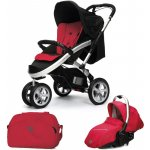 CASUALPLAY Set Sport S4 autosedačka Sono + Bag 2015 RASPBERRY