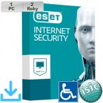 ESET Internet Security 2018 1 lic. 24 mes.