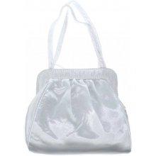 Dámska spoločenská kabelka 1619, Famito, biela