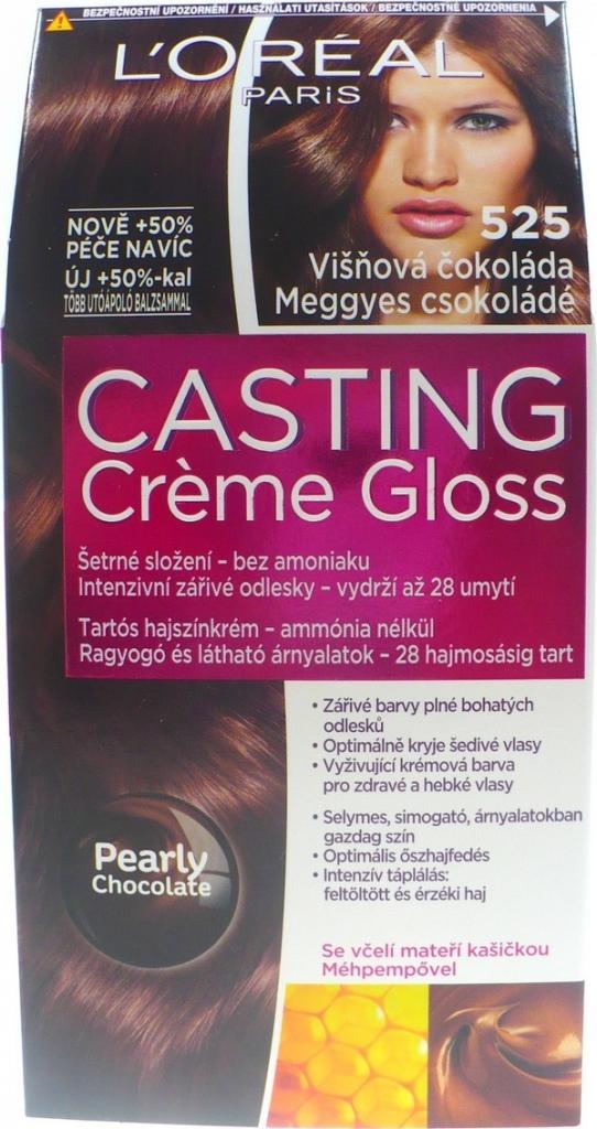 L Oréal Casting Creme Gloss 525 Višňová čokoláda farba na vlasy od 3 ... 8cfa484ff1d