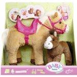 Zapf 822371 BABY born Interaktivní kůň Sunny s hříbátkem 822371