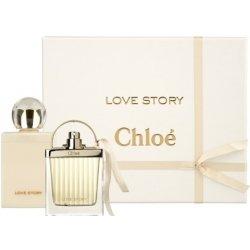 560c8ae8c9 Chloé Love Story EDP 75 ml + telové mlieko 100 ml darčeková sada ...