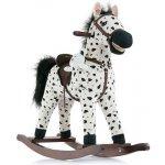 Milly Mally Hojdací koník Mustang bielo-čierny bodkovaný