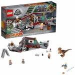 LEGO Jurassic World 75932 Jurský park: Naháňačka s Velciraptorom