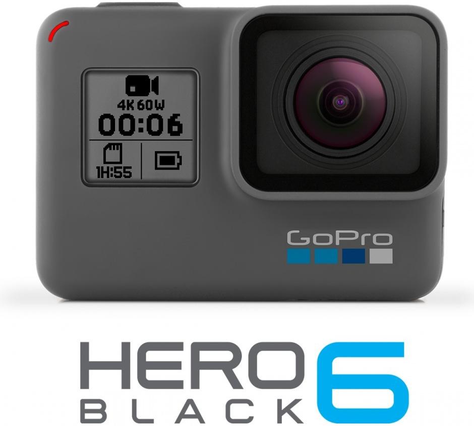 Outdoorová kamera GoPro HERO6 Black Edition