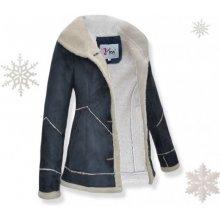 KJP014 Štýlovy dámsky kabát kožuštek
