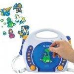 X4-Tech CD a MP3 prehrávač pre deti Bobby Joey