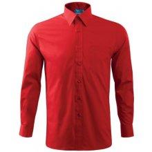 774fe43864 Adler Pánska košeľa s dlhým rukávom Červená