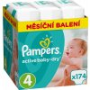 Pampers Active Baby 4 MAXI 174 ks 8-14 kg