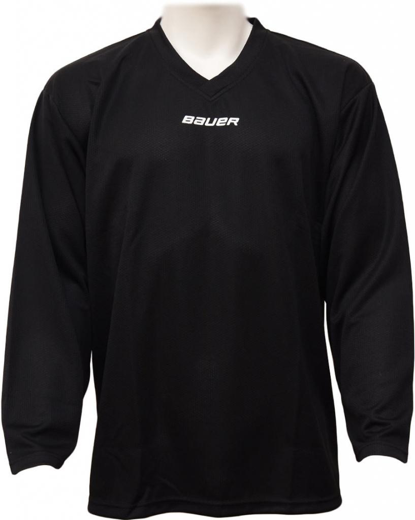 ed81b85e2808f Hokejový dres Tréningový hokejový dres BAUER CORE čierny junior ...