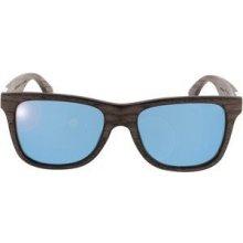 Wood Fellas Sunglasses Prinzregenten walnut/blue