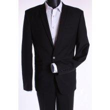 Pánsky oblek slim fit čierná 2.