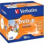 Verbatim DVD-R 4,7GB 16x, 10ks