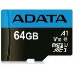A-DATA microSDHC 64GB UHS-I U1 AUSDX64GUICL10A1-RA1