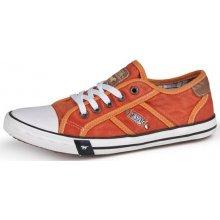 Dámska obuv 32C026 - MUSTANG - orange